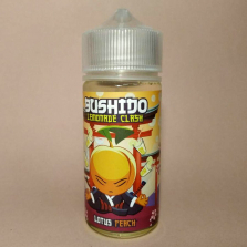 Жидкость BUSHIDO Lemonade Clash - Lotus Peach